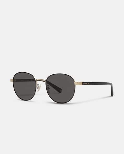 Signature Workmark Round Sunglasses