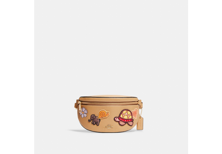 Bethany Belt Bag With Creature Patches image number 0