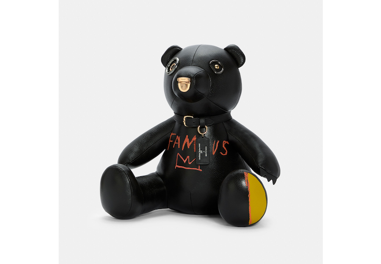 Coach X Jean Michel Basquiat Collectible Bear image number 0
