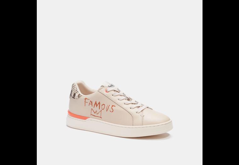 Coach X Jean Michel Basquiat Clip Low Top Sneaker image number 0