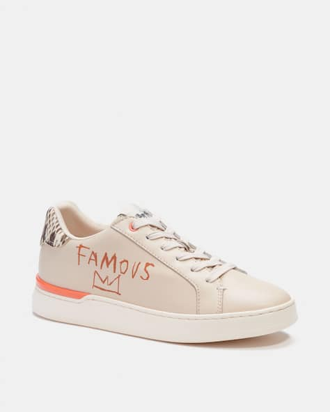 Coach X Jean Michel Basquiat Clip Low Top Sneaker