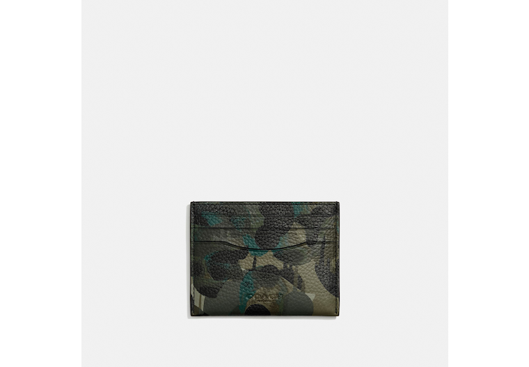 Card Case With Camo Print image number 0