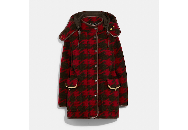Archive Houndstooth Coat image number 0