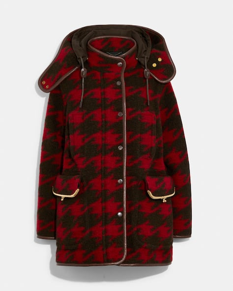Archive Houndstooth Coat
