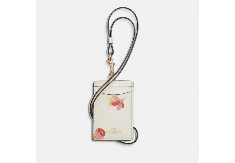 Id Lanyard With Pop Floral Print image number 0