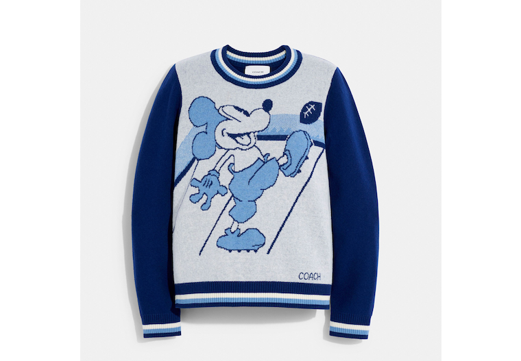 Disney X Coach Mickey Mouse Jacquard Sweater image number 0