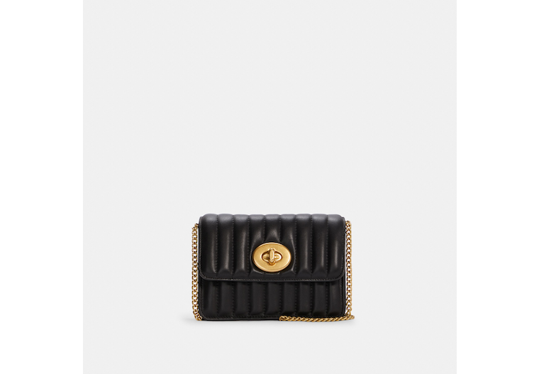 Coach X Jennifer Lopez Bowery Crossbody With Linear Quilting image number 0