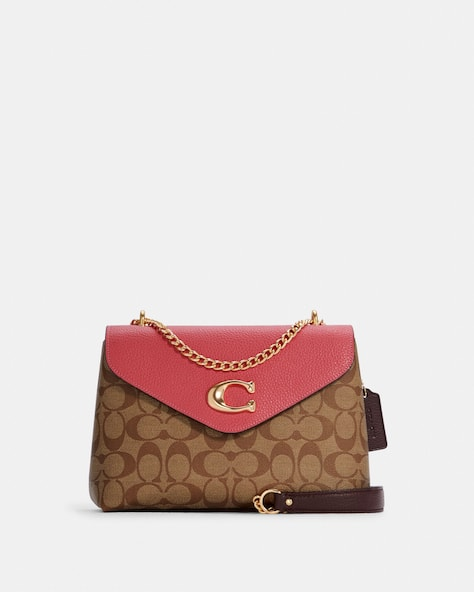 Tammie Shoulder Bag In Signature Canvas