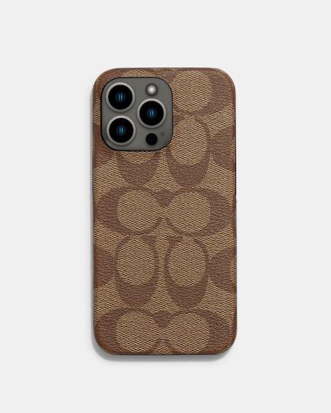 Iphone 13 Pro Case In Signature Canvas