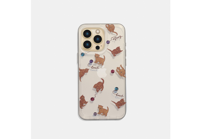 Iphone 13 Pro Case With Cat Dance Print image number 0