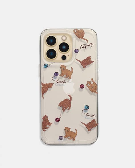 Iphone 13 Pro Case With Cat Dance Print