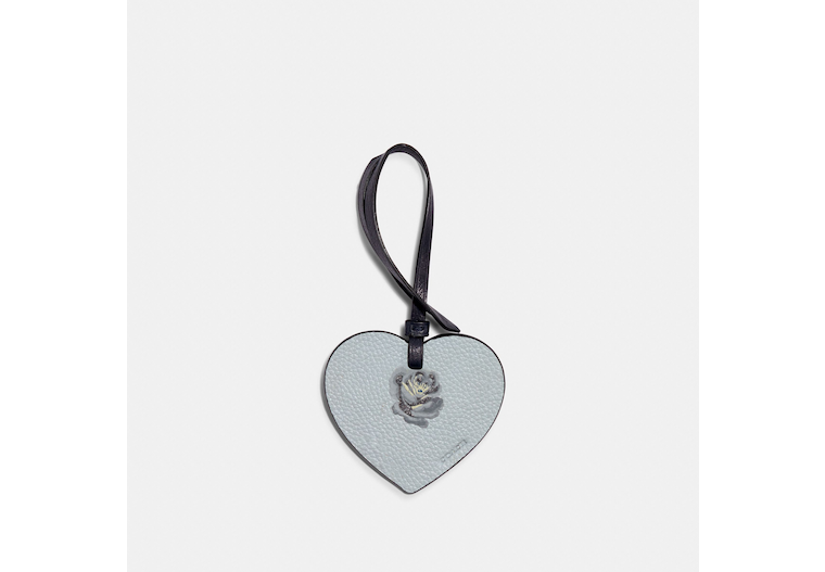 Remade Heart Bag Charm image number 0