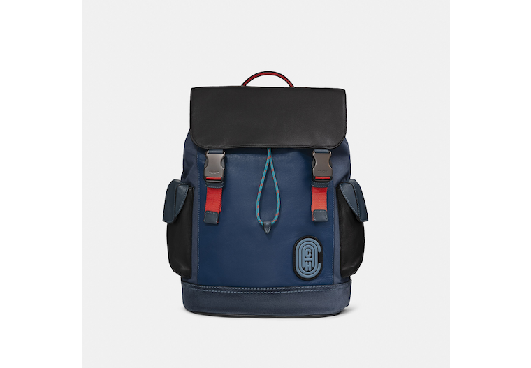 Restored Rivington Backpack In Colorblock With Coach Patch image number 0