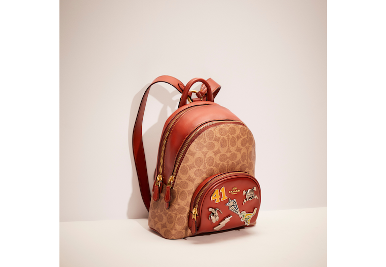 Upcrafted Carrie Backpack 23 In Signature Canvas image number 0