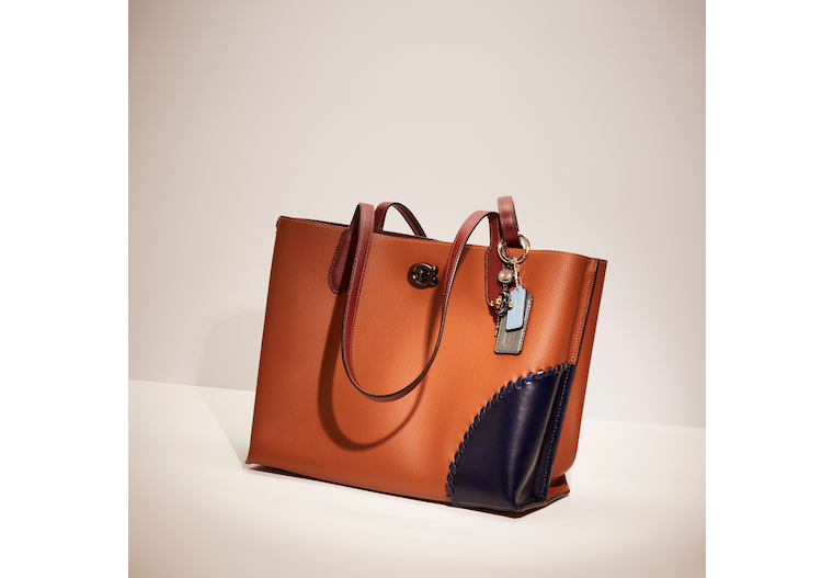 Upcrafted Willow Tote In Colorblock With Signature Canvas Interior image number 0