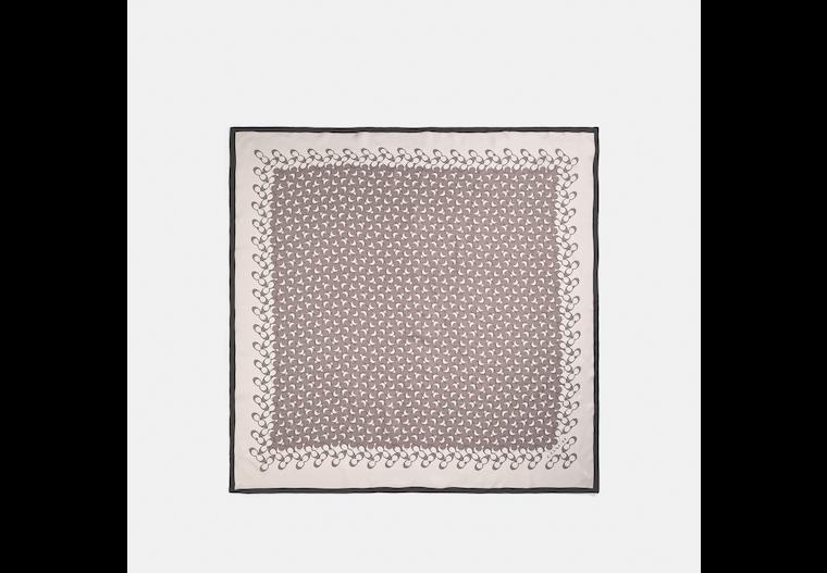 Signature Silk Square Scarf image number 0