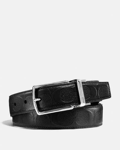 Modern Harness Cut To Size Reversible Belt In Signature Leather
