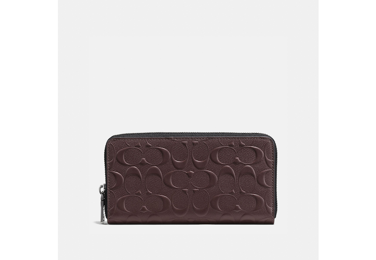 Accordion Wallet In Signature Leather image number 0