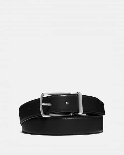 Harness Buckle Cut To Size Reversible Belt, 32 Mm