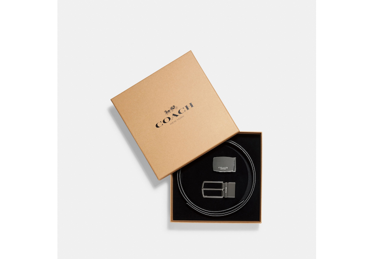 Signature Mod Plaque Harness Cut To Size Reversible Belt image number 0