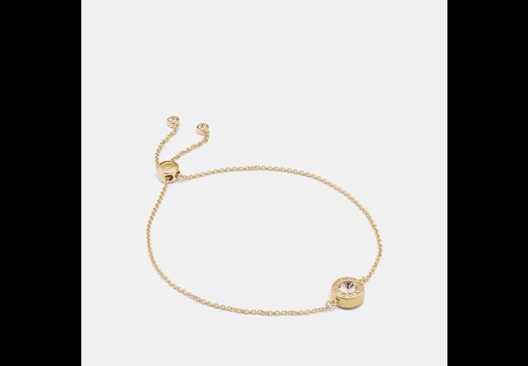 Open Circle Slider Bracelet image number 0