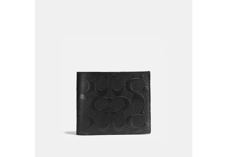Compact Id Wallet In Signature Leather image number 0
