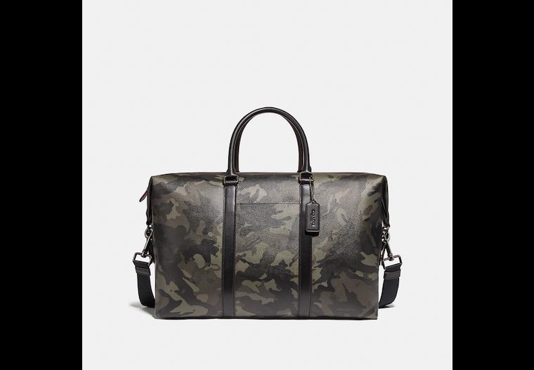Trekker Bag With Camo Print image number 0