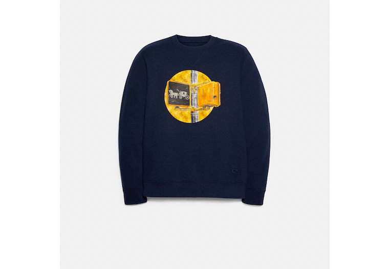 Sweatshirt With Coach Traffic Light image number 0