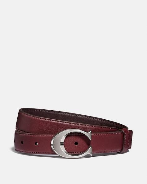Signature Buckle Belt, 25 Mm