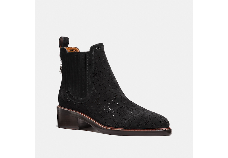 Bowery Chelsea Boot With Cut Out Tea Rose image number 0