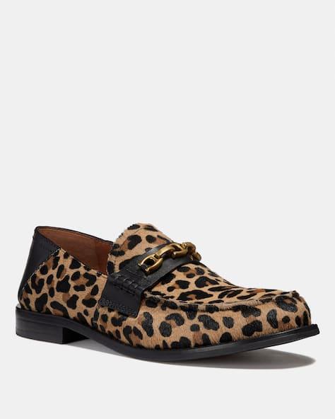 Putnam Loafer With Leopard Print