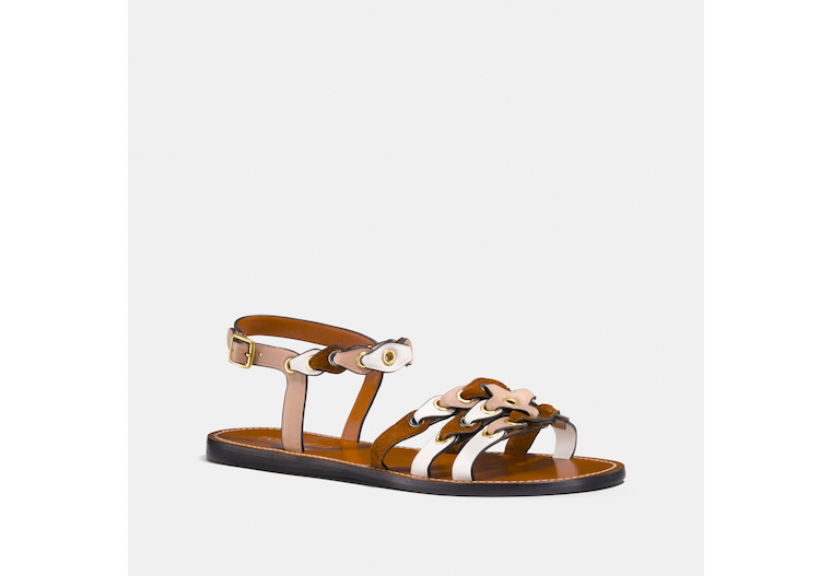 Sandal With Coach Link image number 0