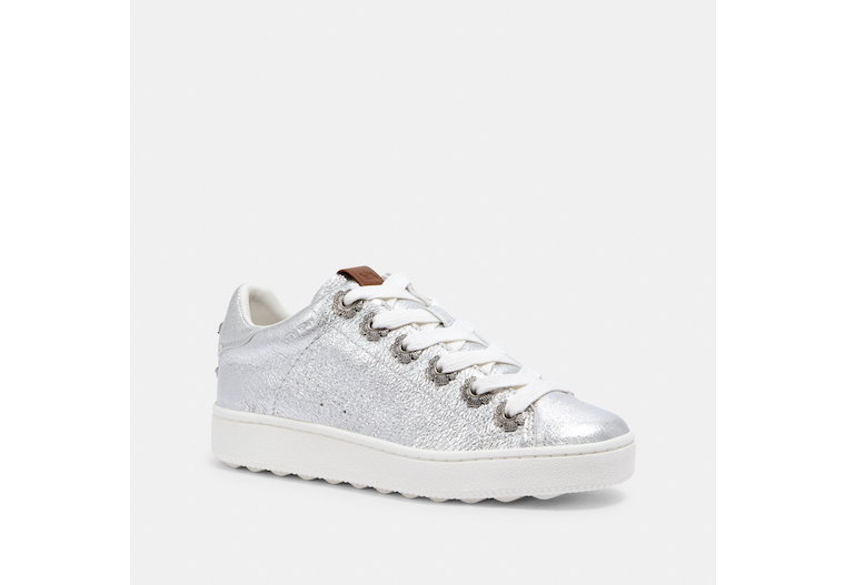 C101 Low Top Sneaker With Tea Rose Eyelets image number 0