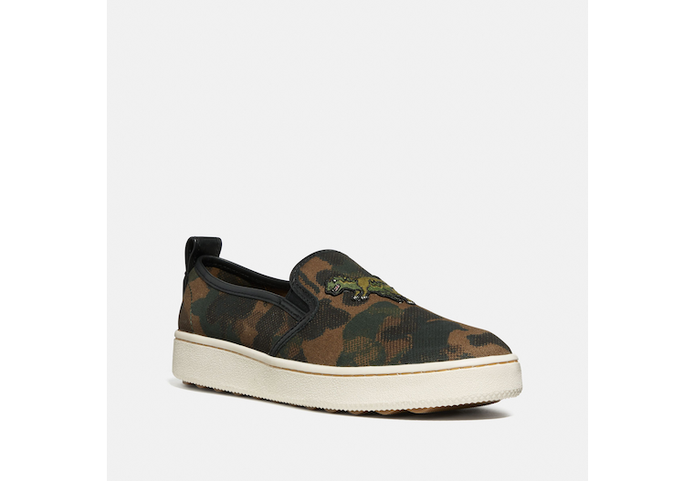 C115 Slip On Sneaker With Camo Print image number 0