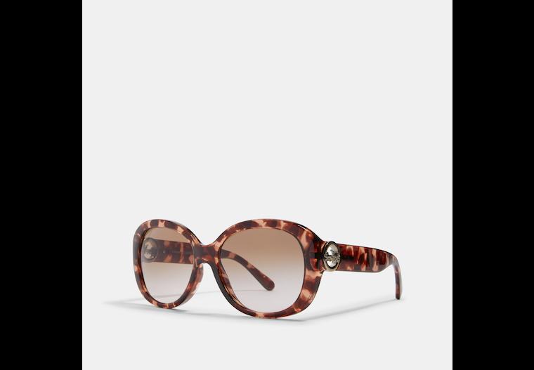 Oversized Metal Soft Square Sunglasses image number 0