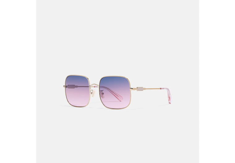Wireframe Square Sunglasses image number 0