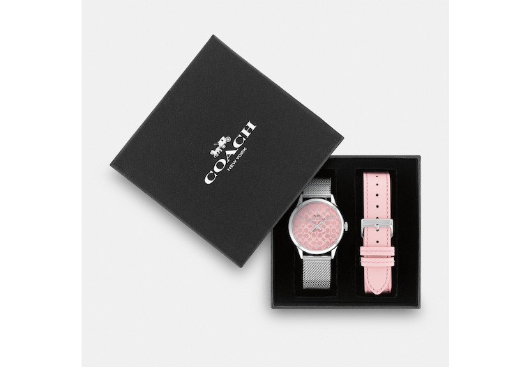 Boxed Ruby Watch Gift Set, 32 Mm image number 0