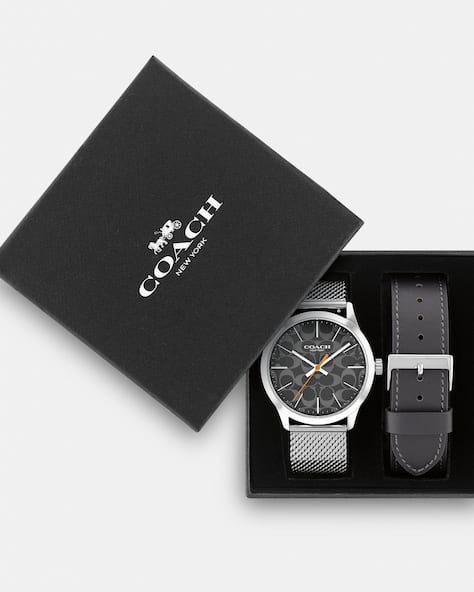 Boxed Baxter Watch Gift Set, 39 Mm